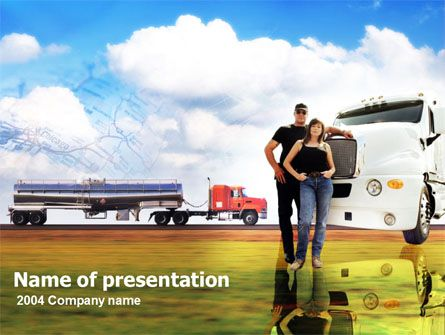 110 best Free PowerPoint Templates images on Pinterest - truck leasing template