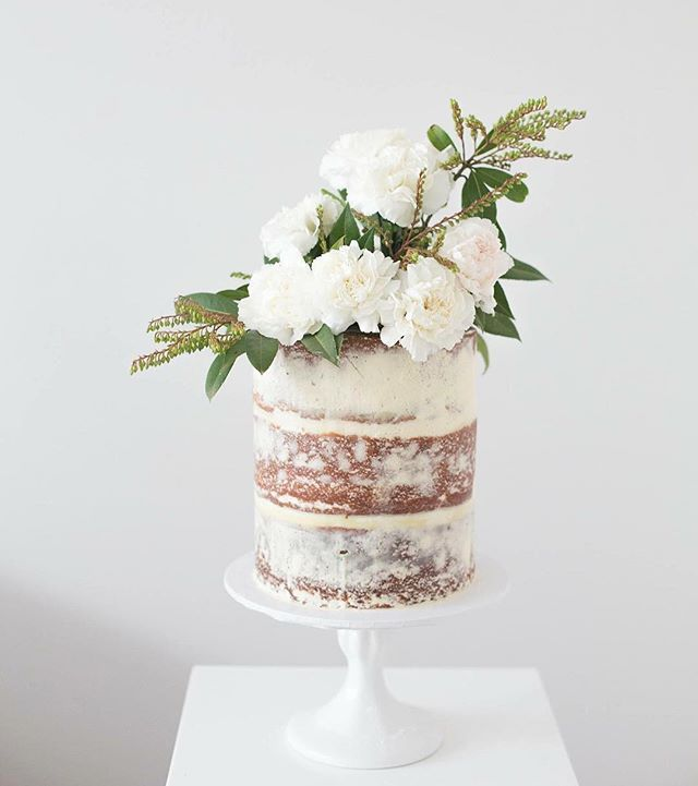 Best Wedding Cake Flowers Decorations Images On Pinterest