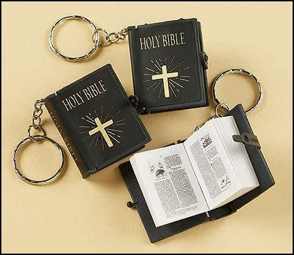 Bible Keychain