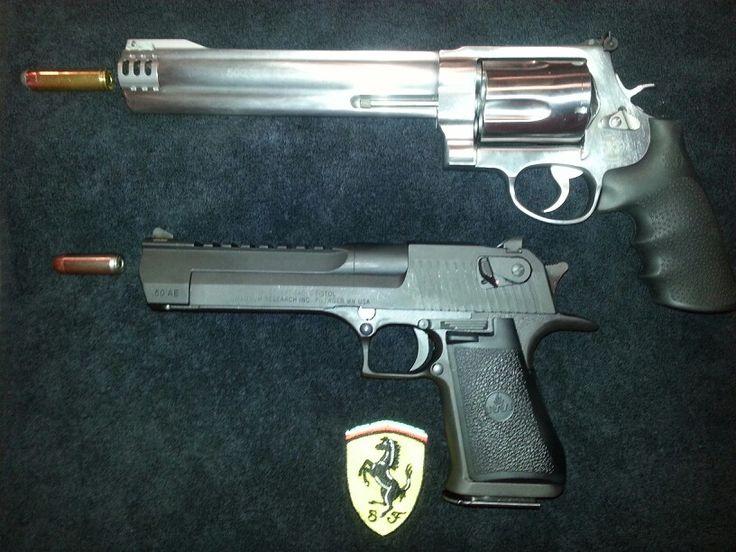 500 Magnum and the 50 cal Desert Eagle. #gun #50cal # ...