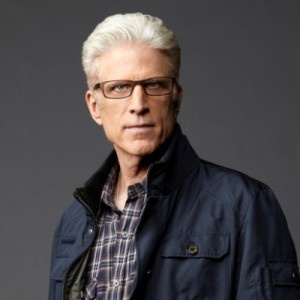 Ted Danson he is so good looking with the white hair. I never thought he was that good looking when he was younger. he is definitely a man crush now