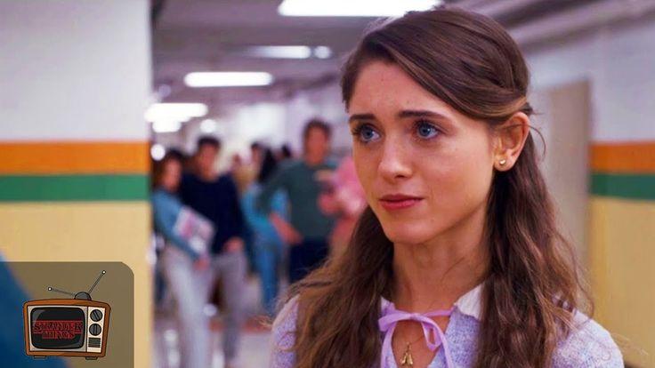 Stranger Things 1x02   Nancy Talks to Jonathan in the Corridor   Clip