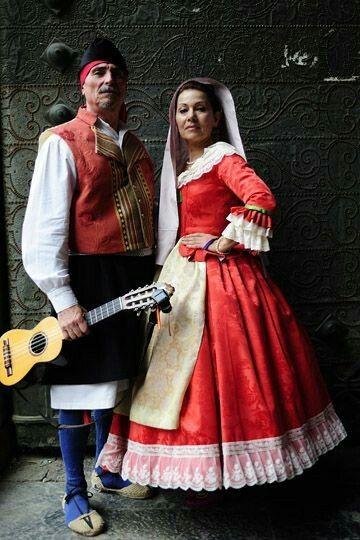 Costumes of Murcia, Spain.