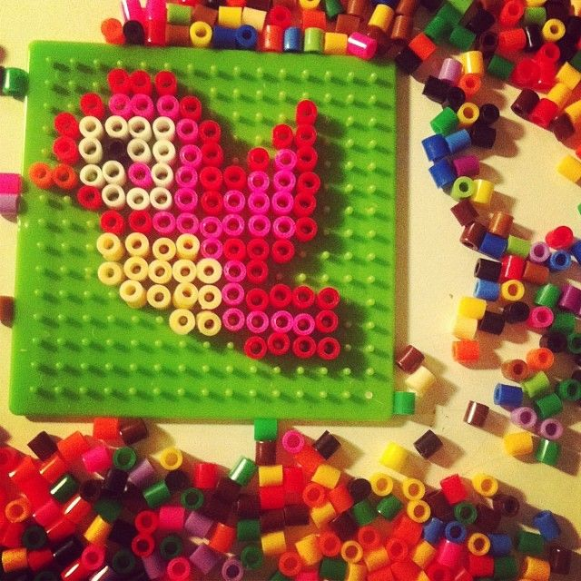 Bird perler beads by 3_is_a_party