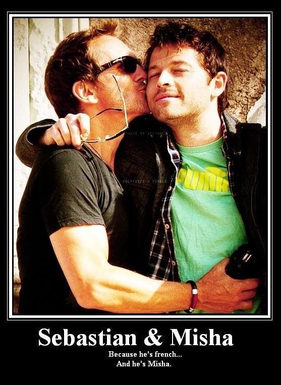 I miss Sebastian as Balthazar. And I don't think anyone really needs a cultural excuse to want to kiss Misha.
