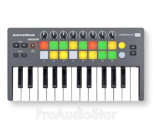 Novation Launchkey Mini 25 Key USB Midi Controller Keyboard PROAUDIOSTAR--