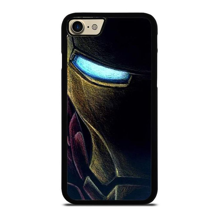 Irone man avengers face art iphone 7 case cover iphone 7