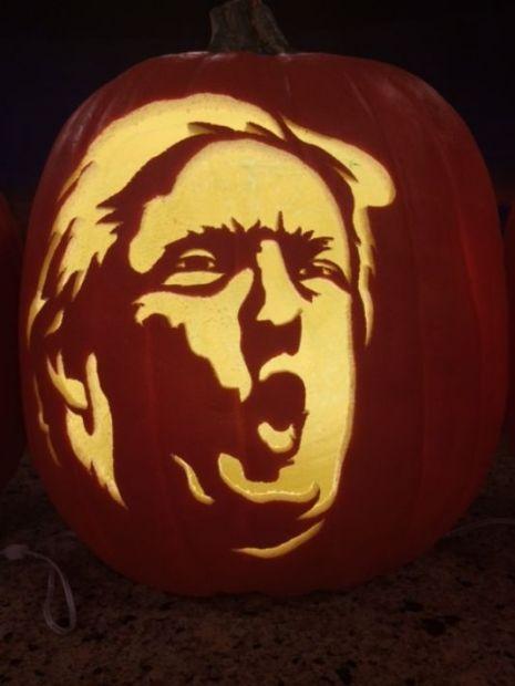 Trumpkins: Make Halloween horrifying again with these Donald Trump pumpkins | Dangerous Minds