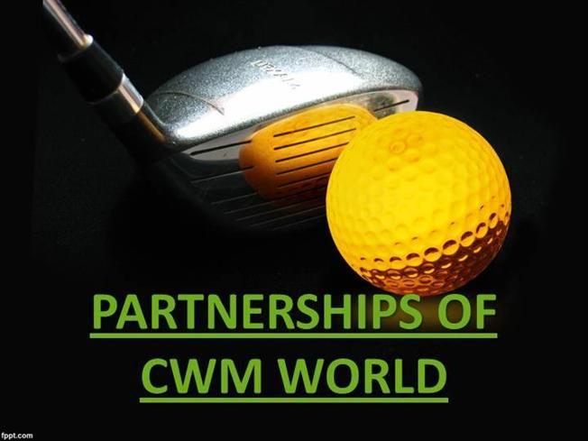 PARTNERSHIPS OF CWM WORLD by cwm via authorSTREAM
