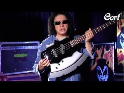 Gene Simmons Cort Axe-2 Bass Guitar