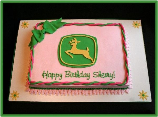 Pink John Deere Cake Ideas Image Search Results cakepins.com