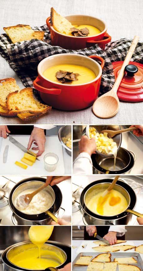 La Cucina Italiana - Ricetta regionale: fonduta