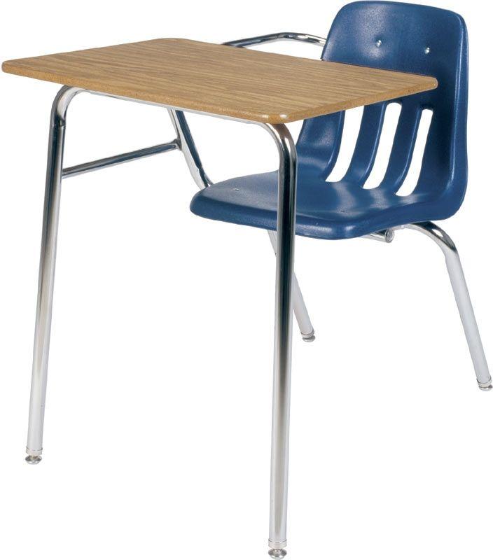 Student Combo Desk - 18x24 - Adjustable Height