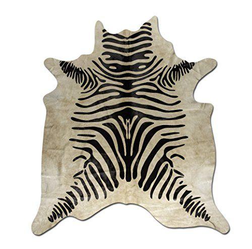 Zebra Print auf Kuhfell-Teppich Alfombra Piel de Vaca Est... http://www.amazon.de/dp/B01F71QPLY/ref=cm_sw_r_pi_dp_dYYkxb0SVN74M