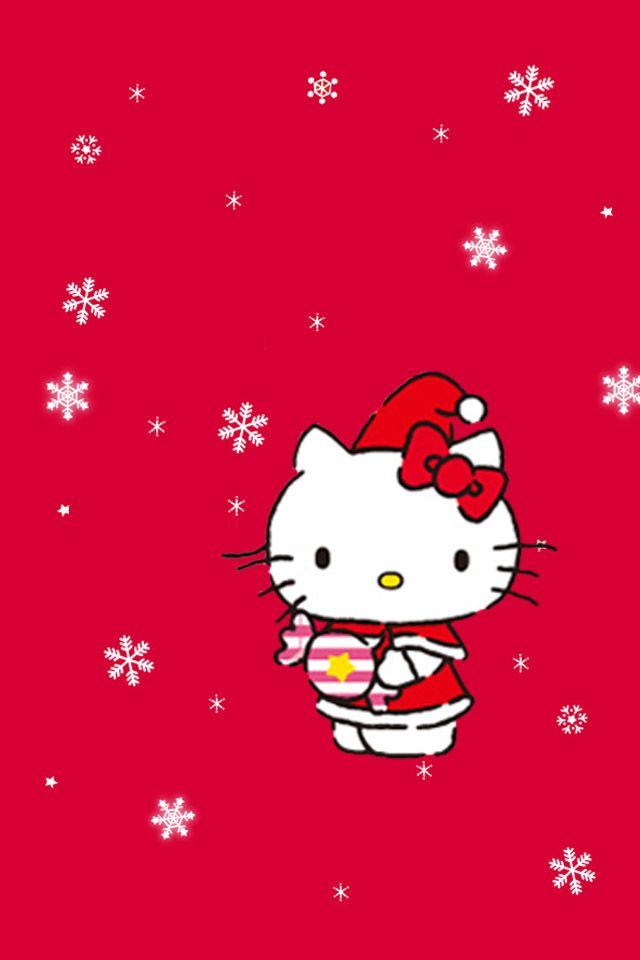 christmas hello kitty | Some Hello Kitty Christmas Wallies | Android Themes