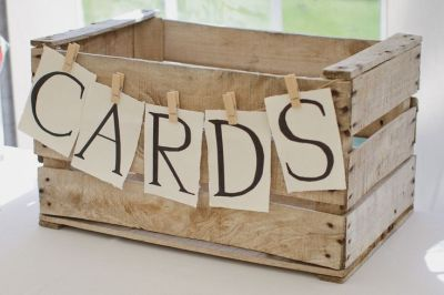 Rustic idea for 50th birthday cards.  See more card ideas and 50th birthday party ideas at www.one-stop-party-ideas.com