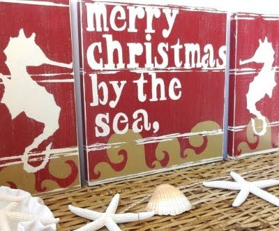 18 best Christmas Crafting with Ocean Theme images on #1: 9b7a154dded6dd fe9e8e3115 nautical christmas tropical christmas