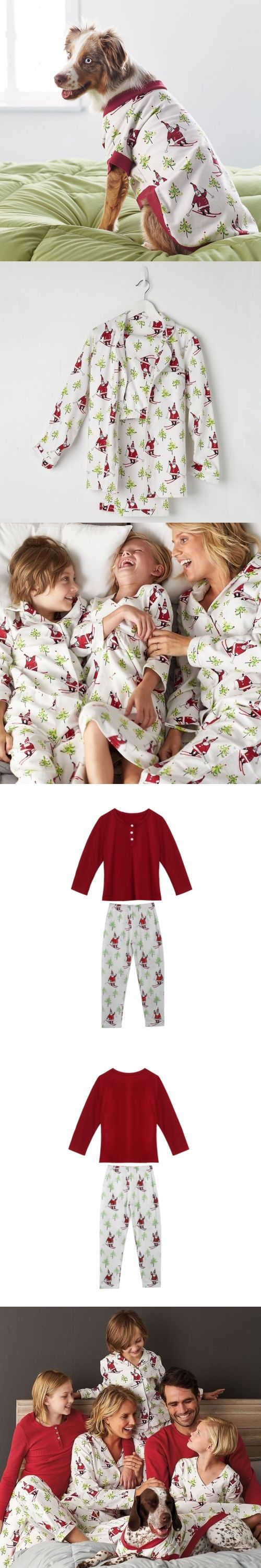 Pudcoco 2PCS Family Matching Christmas Pajamas Set Women Baby Kids Xmas Print Long Sleeve Cotton Soft Sleepwear Nightwear