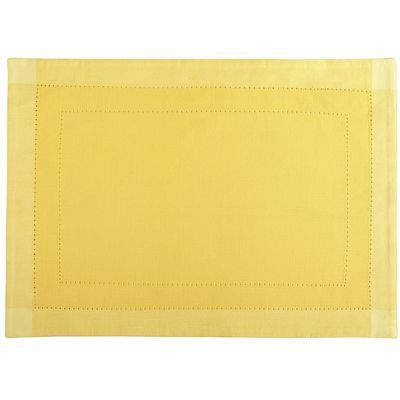 $5 @ Pier One Hemstitch Placemat - Yellow