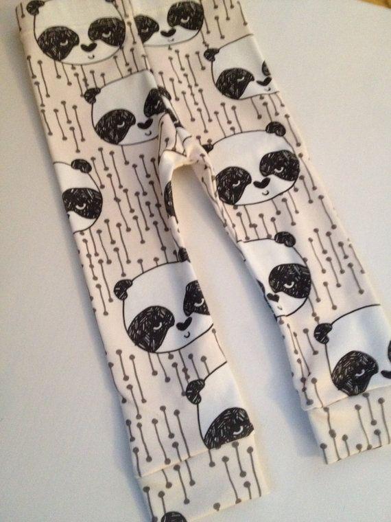 champagne+panda+organic+cotton+knit+leggings