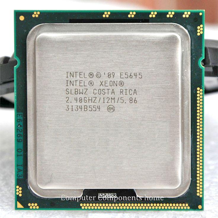 INTEL xeon  E5645 Six Core 2.4GHz  XEON LGA 1366  processors  LGA1366  SCOKET 1366 TDP 80W 1 CPU warranty 1 year #jewelry, #women, #men, #hats, #watches, #belts, #fashion