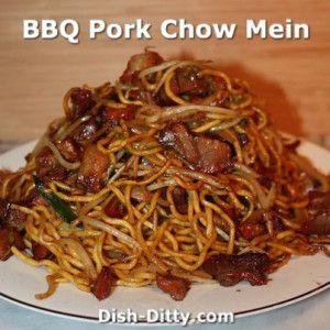 BBQ Pork Chow Mein Recipe – Dish Ditty Recipes