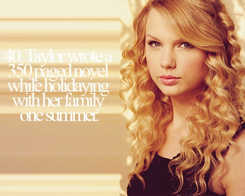 Facts about Taylor Swift <3
