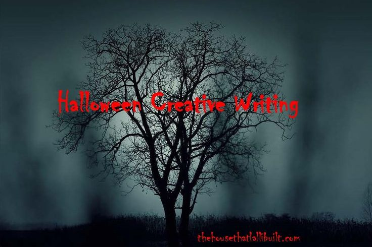 Halloween creative writing project for students.