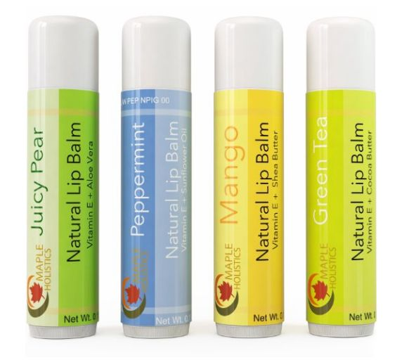 Lip Balm is great - new and exciting flavors of lip balm is even better! Check out our Tropical Therapeutic Lip Balm 4-Pack here at Maple Holistics!
