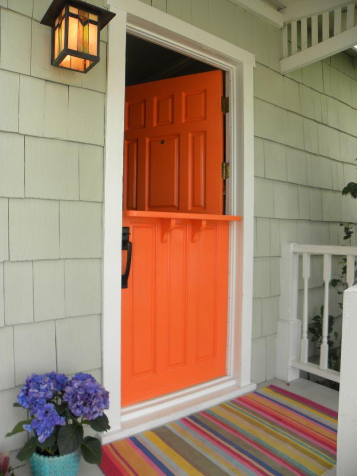 Best 25 Orange Front Doors Ideas On Pinterest Hermes