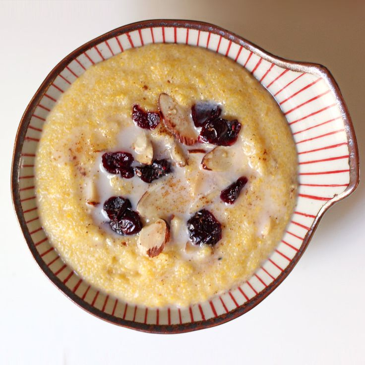 Filling Fast Food! Gluten-Free Breakfast Polenta