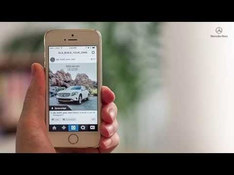 Mercedes-Benz & Razorfish have taken advantage of Instagram's linking capability to enable users to build their own customized GLA SUV, using hundreds of linked accounts and thousands of images to let them pick the color, wheels, roof and grill of their potential new ride.