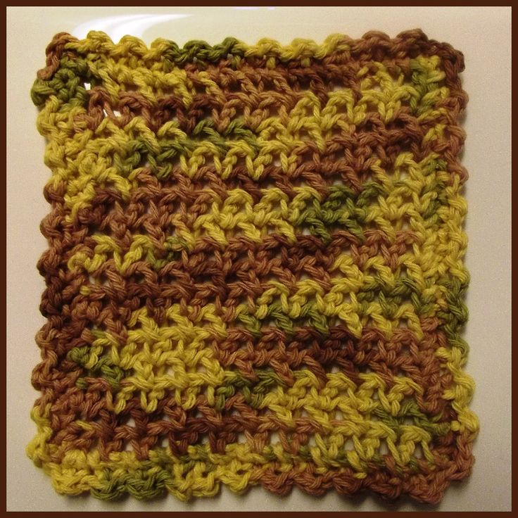 ESC Dishcloth - FREE Crochet Pattern Crochet - FREE Patterns ...