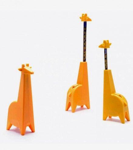 Mètre mesureur girafe