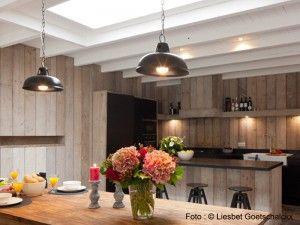 Eetkamer  Keuken vakantiehuis Pannenstraat 104 | ZaligAanZee.be