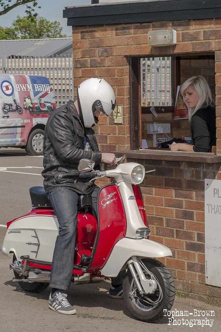 Lambretta - 2014 arrivals www.bwmrally.co.uk
