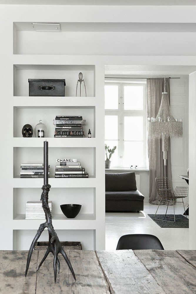 Room devider kast tot aan 't plafond