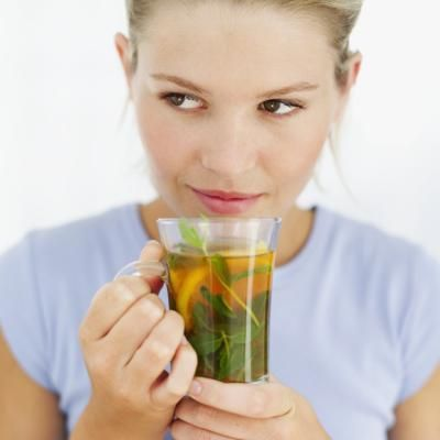 There is no herb, tea or pill that miraculously causes you to shed pounds. Regular exercise and a healthy diet should be the cornerstones of your weight-loss efforts. But if approved by your doctor, green tea and mint can benefit your health and potentially your weight-loss efforts as well. Green tea and mint interact with certain medications and other teas, so it's important to consult with your doctor before drinking green tea or taking green tea supplements.