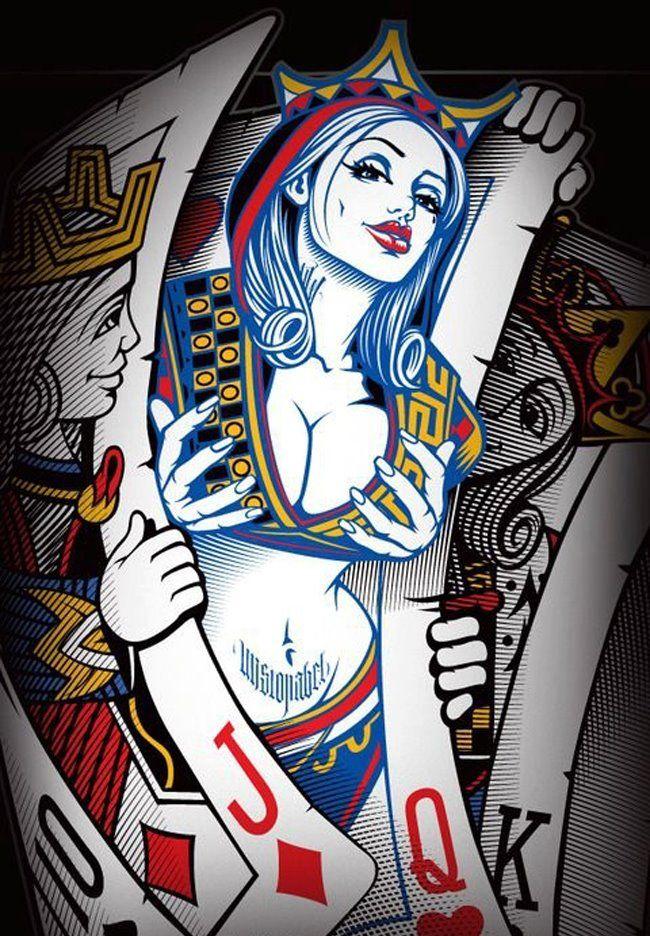 Poker Princess (Boys Will Be Boys) by OG Abel.