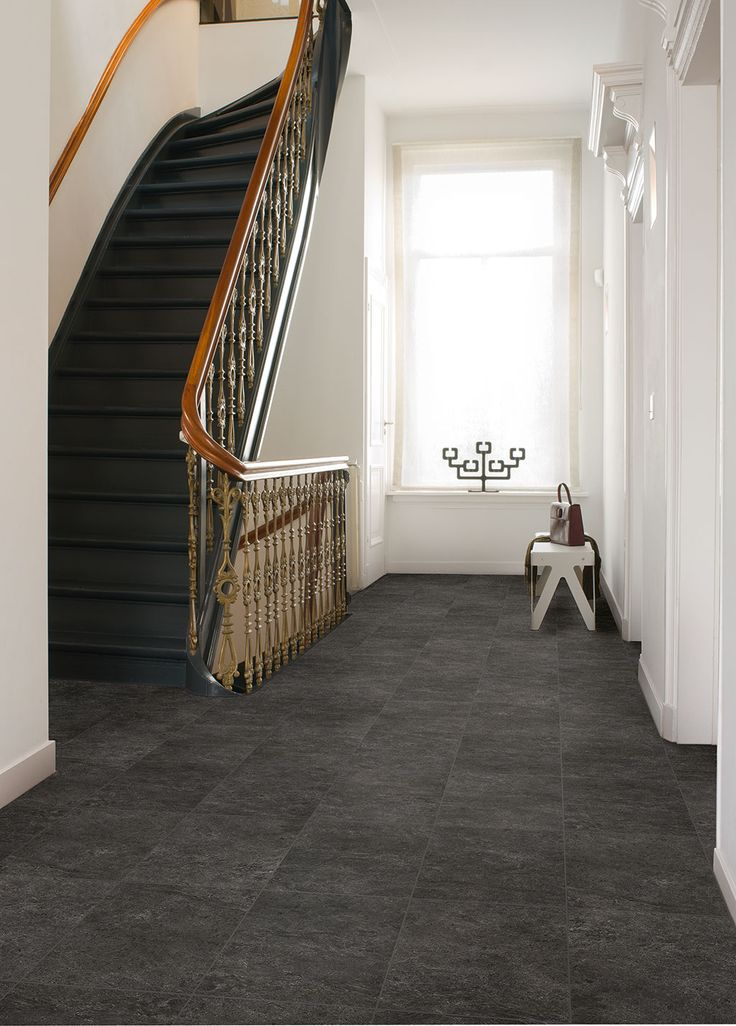 Finding the ideal hallway flooring Black laminate