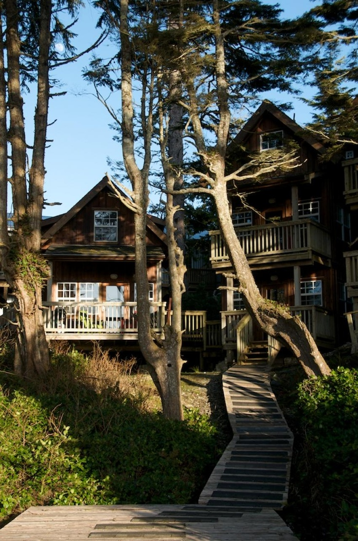 The Cabins, Ucluelet, BC