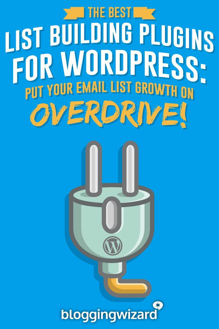 Want to grow your email list faster? Use these WordPress plugins to make it happen. via @adamjc