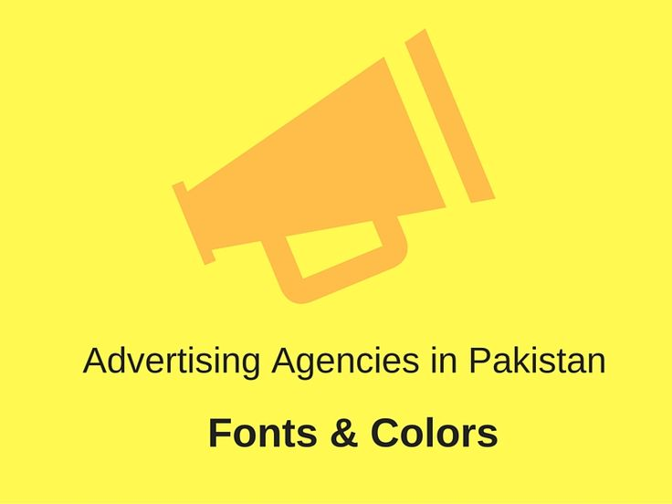 #advertising #agency #Lahore #fontsandcolors