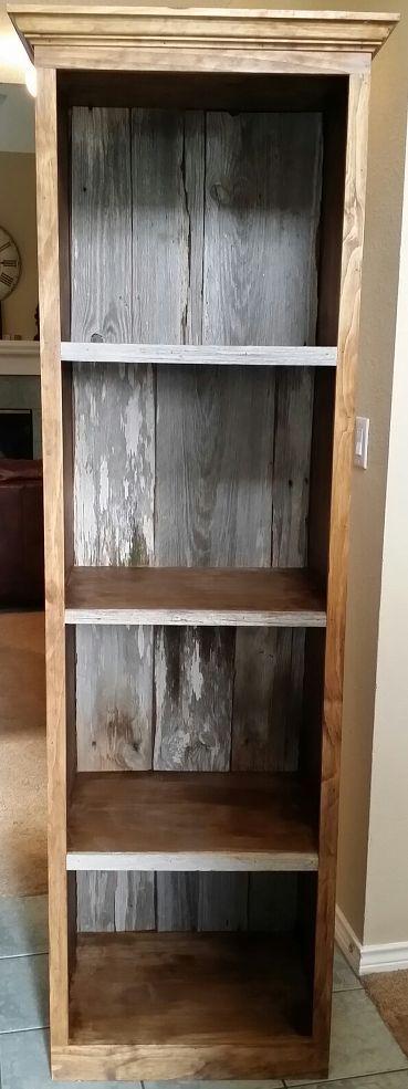 Barn Wood Bookshelves by Vintage Headboards