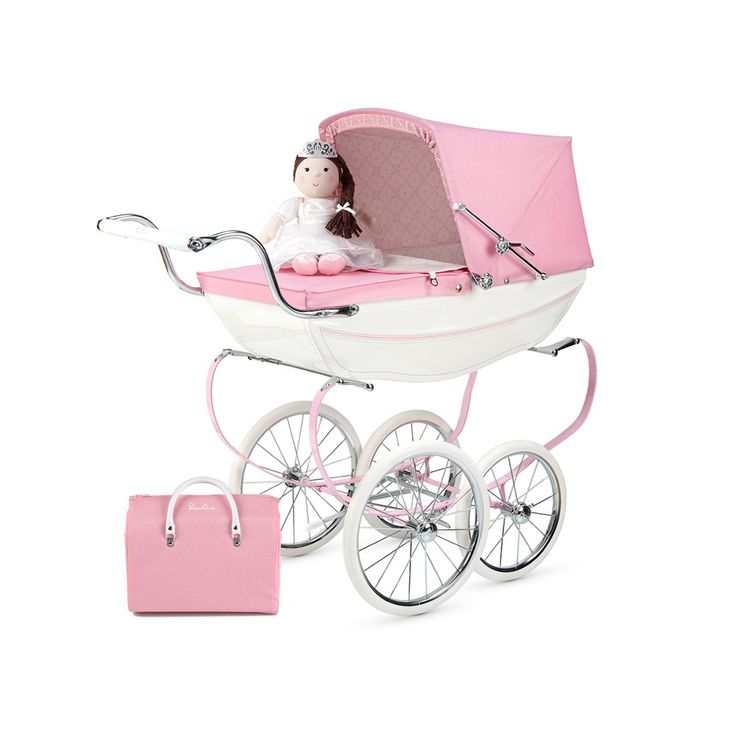 The Silver Cross Princess Dolls Pram is a limited edition and is hand crafted using only the finest materials and finishes. Buy yours at Pramworld today!