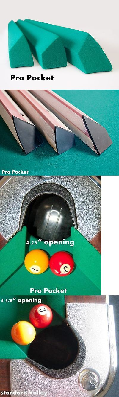 Other Billiards 1292: Pro Pocket Rails Covered (Simonis 860) For Valley Pool Table Diamond BUY IT NOW ONLY: $350.0