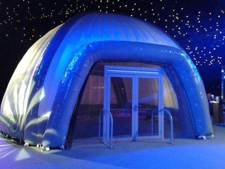 Dome range provide you with the ultimate flexible and eye catching space for your requirements. #eventprofs #events