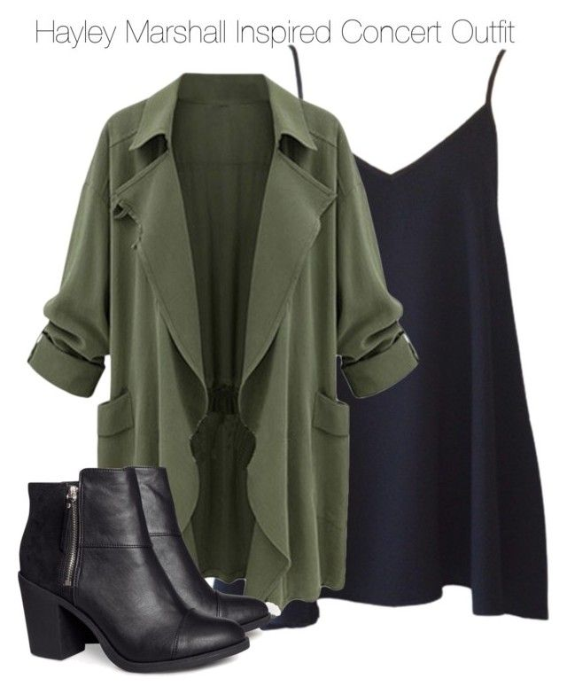 """The Originals - Hayley Marshall Inspired Concert Outfit"" by staystronng ❤ liked on Polyvore"
