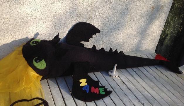 Schultüten - Gr. 70 Cm DIY Schultüte Schnittmuster Ohnezahn - ein Designerstück von SibDeSign bei DaWanda