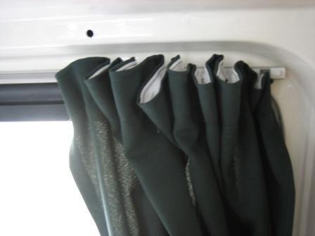 Campervan Curtains   CampervanConversion.co.uk